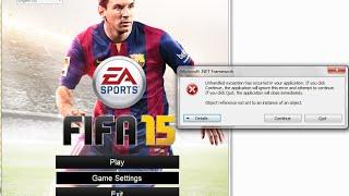 حصرياً : الحل الامثل لمشكلة فيفا  FIFA 15 Demo حل مشكلة فيفا 2015 .net framework Fifa 15 Fix