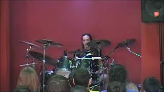fotis benardo σεμινάριο drum set στο Ωδείο Μελοποιία