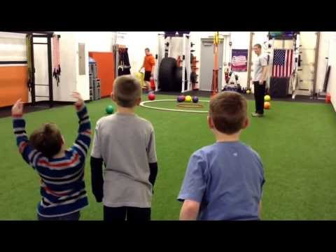 Youth Olympic Themed Sports Performance Training