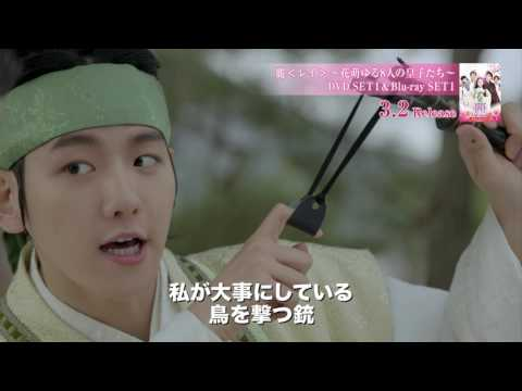 子犬系皇子ベクヒョン(EXO)一途な片思い編 3/2 DVD発売「麗<レイ>~花萌ゆる8人の皇子たち~」