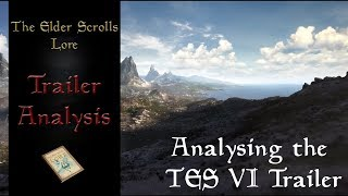 The Elder Scrolls VI Teaser Trailer in depth Analysis