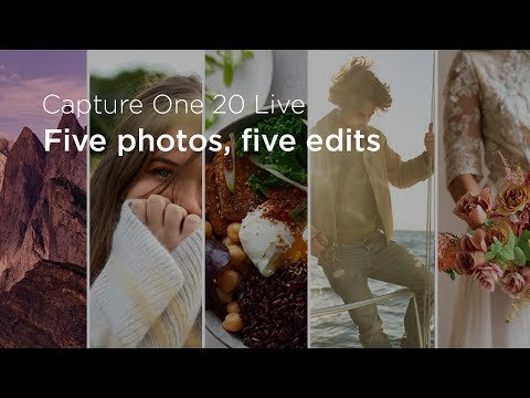 Capture One 20 | Live : Five Photos, Five Edits