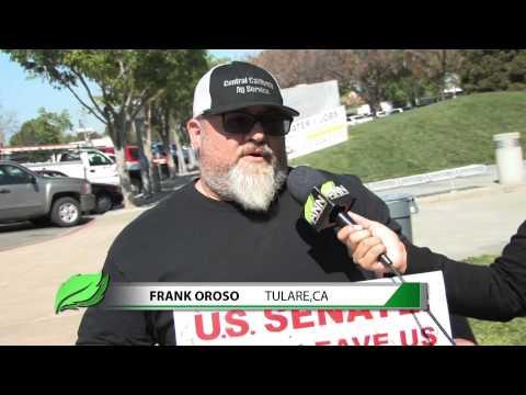 ANN- Water Rally @ Fresno City Hall 3-19-2014