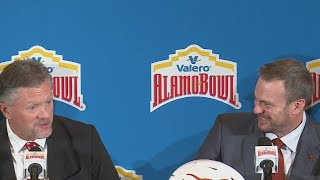 Texas coach talks Alamo Bowl in San Antonio