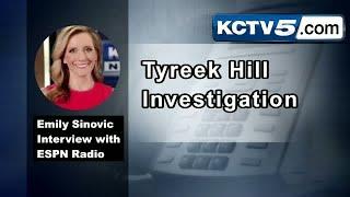 Emily Sinovic talked with ESPN Radio on Tyreek Hill