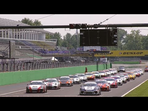 Porsche Carrera Cup GB 2018 ? Monza, Rounds 5 and 6.