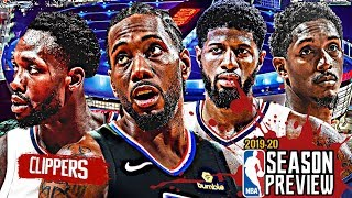Los Angeles Clippers NBA Season Preview: Kawhi Leonard | Paul George | Lou Williams [2019-20]