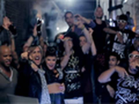 David Guetta & Chris Willis Feat. Fergie & LMFAO - Gettin' Over You (Official Video)