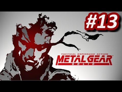 METAL GEAR SOLID (PS1) - Episodio 13: Llave Pal y FoxDie || Gameplay Español