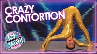 CRAZY CONTORTIONISTS On Got Talent! | Top Talent