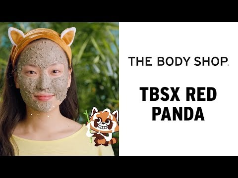 Help save red pandas with every Charcoal Mask you buy! – The Body Shop