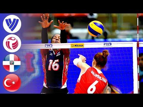 Dominican Republic vs. Turkey - Full Match   Women's Volleyball World Grand Prix 2017
