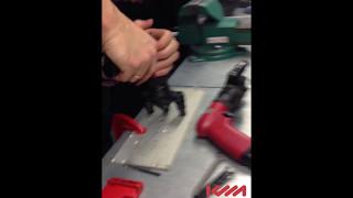 Пневмоинструмент Desoutter RS500-P1850 0 205148130 4 для расверливание отверстий и срезание заклепок