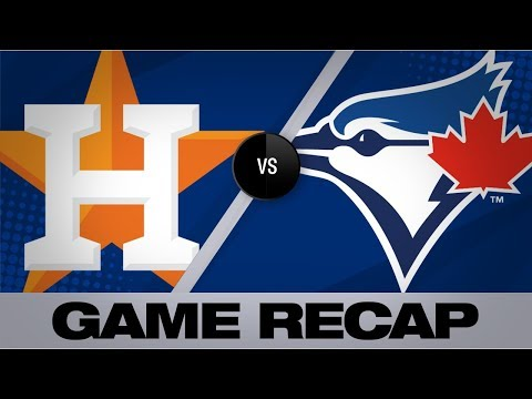 Verlander K's 14 in 3rd career no-hitter | Astros-Blue Jays Game Highlights 9/1/19