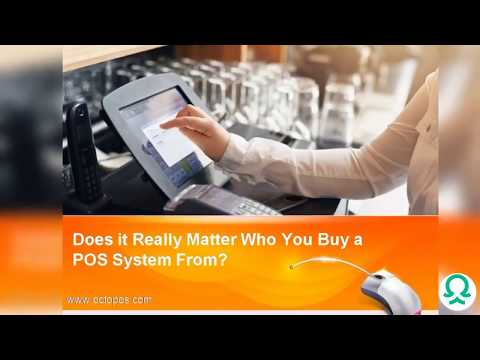 Does it Really Matter Who You Buy a POS System From?