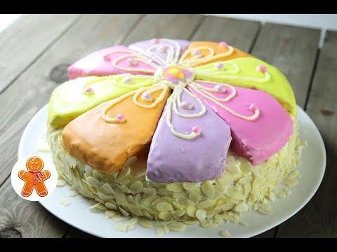 Торт Цветочный или Цветик-Семицветик
