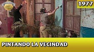 El Chavo | Pintando la vecindad (Completo)
