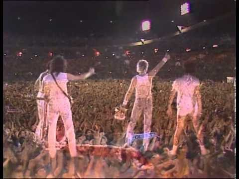 Freddie says goodnight from Wembley Stadium (July 1986)