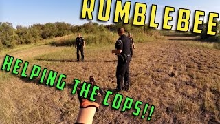 HELPING THE COPS!! - RumbleBee Vlogs