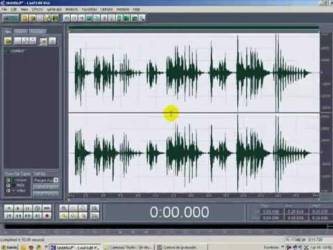 efecto voz terror en adobe audition o cool edit pro 2.0
