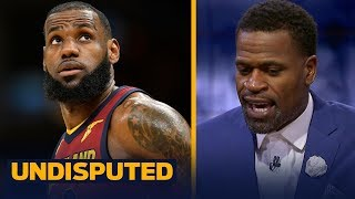 Stephen Jackson on LeBron: 'We knew he was going to crush all the stats' | UNDISPUTED