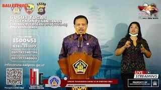 Himbauan Dewa Made Indra Terkait Penanganan Kasus Covid19 di Bali