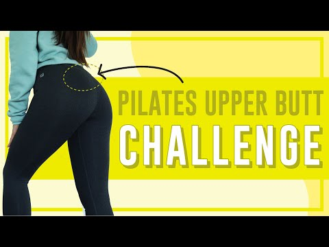 4 Minute Upper Butt Lifting Workout | POP Pilates Song Challenge