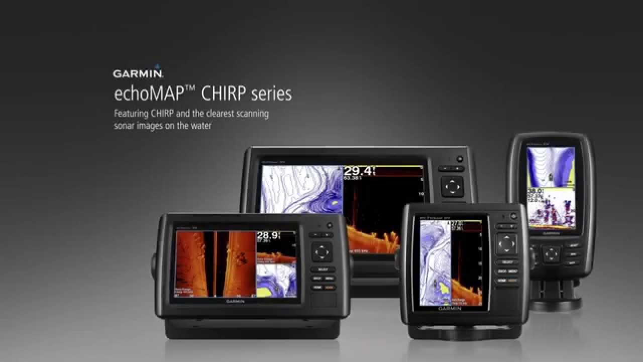 Echomap+chirp+series