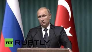 Путин: Россия не может продолжать реализацию проекта «Южный поток»