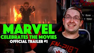 REACTION! Marvel Studios Celebrates the Movies Trailer #1 - Movies Coming Soon 2021