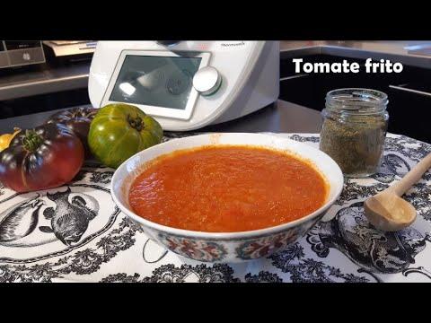 Salsa de tomate frito estilo casero con Thermomix® #TM6 #TM5 #TM31