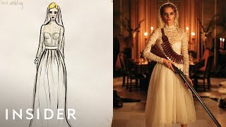 How The Transforming Wedding Dress Was Designed For 'Ready Or Not'   Movies Insider