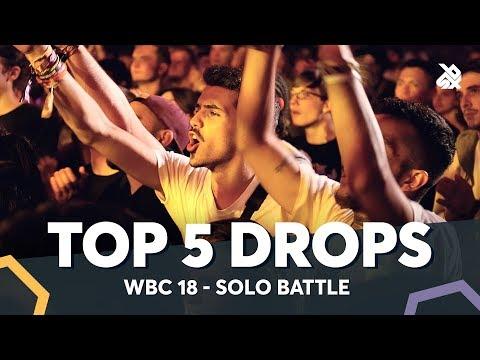 TOP 5 DROPS 😱 WBC Solo Battle 2018