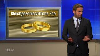 Ehring und Statistikexperte Butenschön zur Homo-Ehe