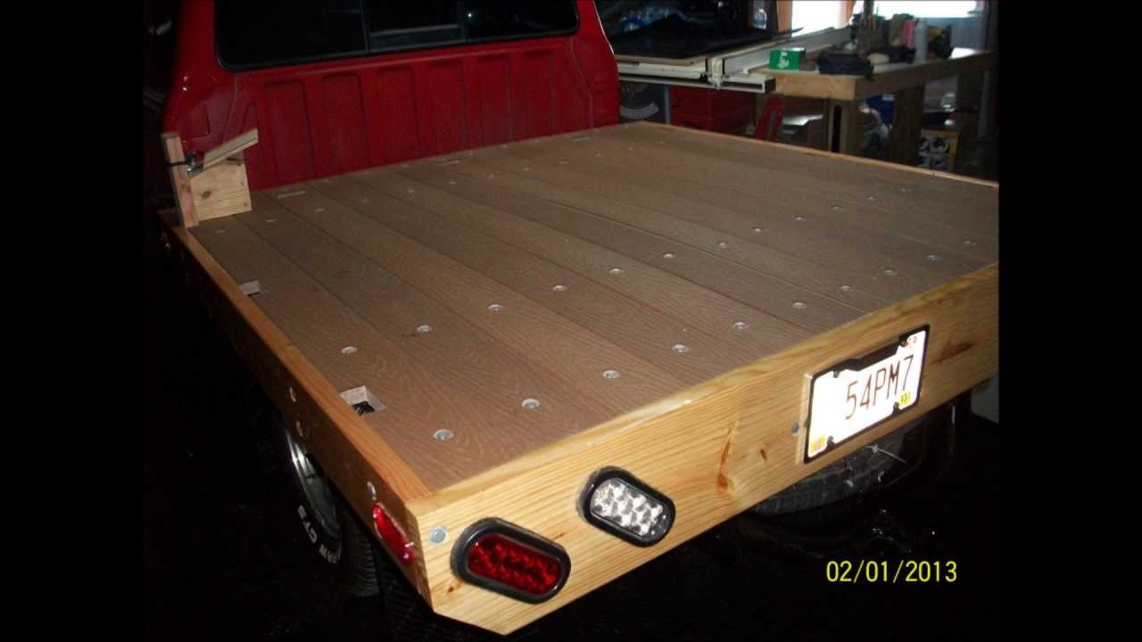 How to build a wooden bed for a Ford Ranger or a Mazda ...