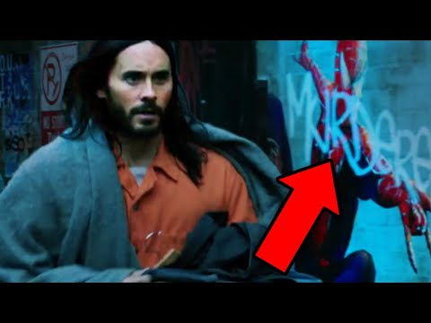 MORBIUS Trailer Breakdown! Spider-Man Easter Eggs & Details You Missed