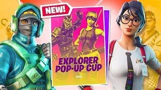 Explorer Pop Up Cup Duo Win Ft. DanCutStudios - Fortnite Battle Royale