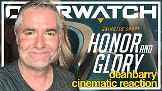 "Overwatch - Animated Short ""Honor and Glory"" REACTION"