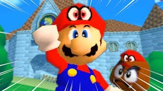 Super Mario Odyssey but it's actually Mario 64