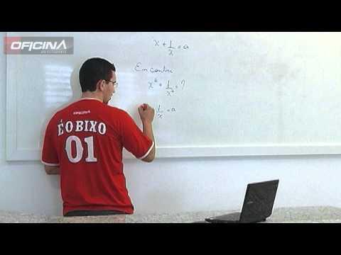 Descomplicando a Matemática - Produtos Notáveis