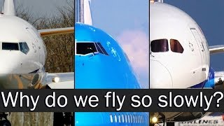 Why are the airplanes losing speed?
