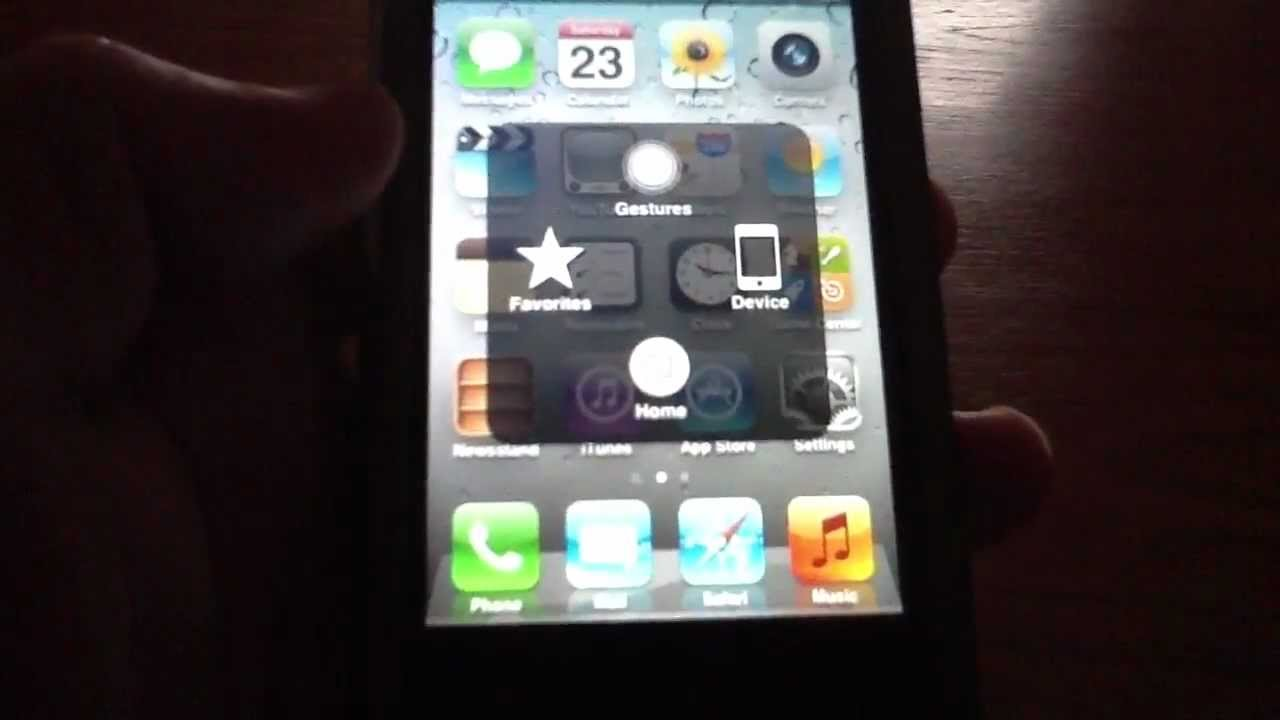 iphone 5 home button not working iphone home button not working try this assistive touch 19304