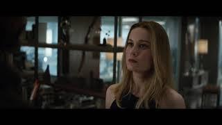 Thor meets Carol Danvers/Captain Marvel scene (HD)