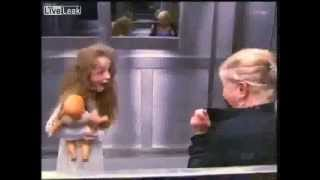 Scary Elevator prank