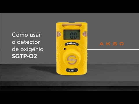Como usar o detector de oxigênico SGTP-02