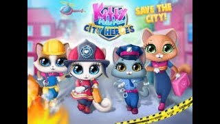 Kitty Meow Meow City Heroes - Cats to the Rescue - Play Animals Fun Pet Care Kids Gameplay