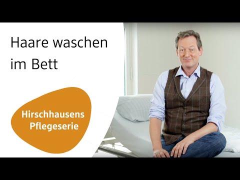 Zu pflegende Angehörige: So waschen Sie im Bett die Haare | Hirschhausens Pflege-serie