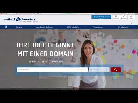 Homepage-Baukasten Basics: So strukturieren Sie die Inhalte Ihrer Seite | united-domains