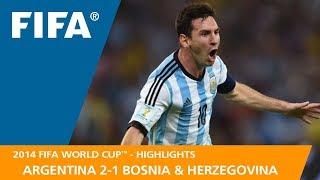 ARGENTINA v BOSNIA AND HERZEGOVINA (2:1) - 2014 FIFA World Cup™