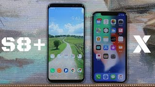 iPhone X vs Samsung Galaxy S8+ Full Comparison